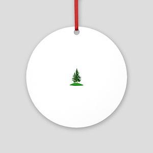 Evergreens Ornament (Round)