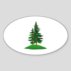 Evergreens Sticker