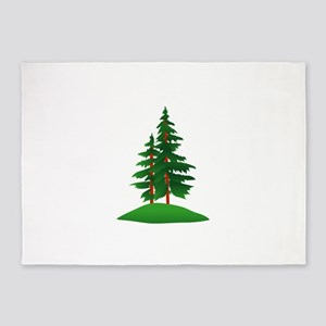 Evergreens 5'x7'Area Rug