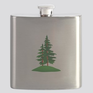 Evergreens Flask