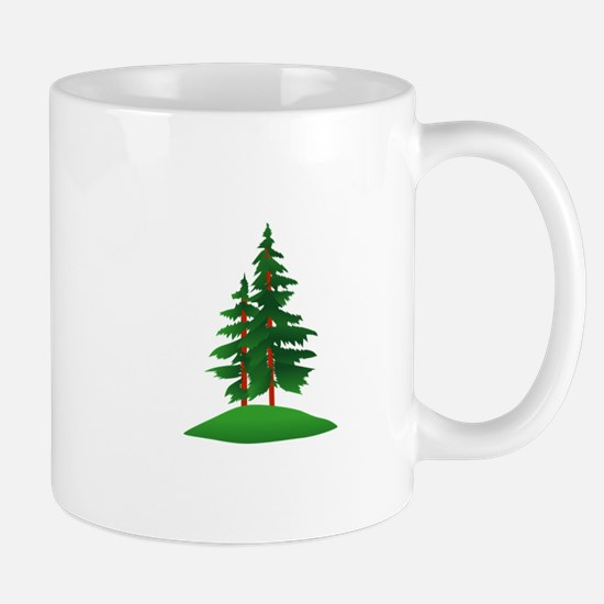Evergreens Mugs
