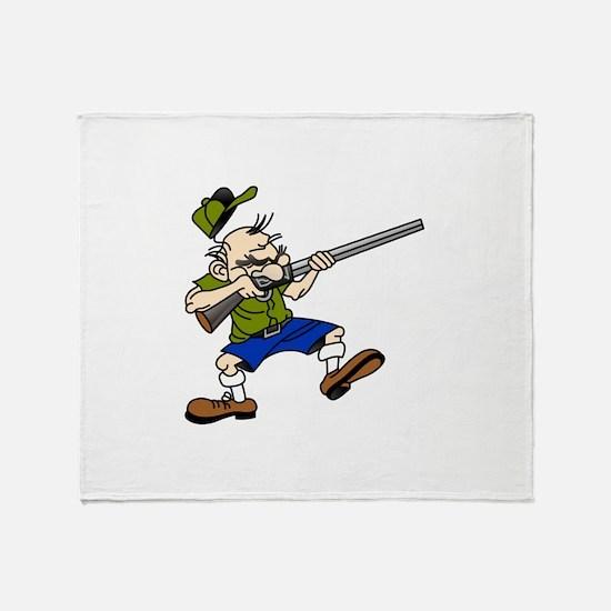 Shooter Throw Blanket