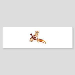 Pheasant Bumper Sticker
