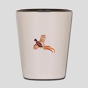 Pheasant Shot Glass