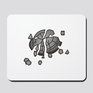 Clay Pigeon Mousepad