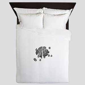Clay Pigeon Queen Duvet