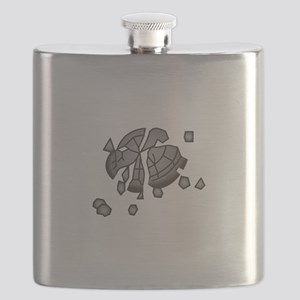 Clay Pigeon Flask