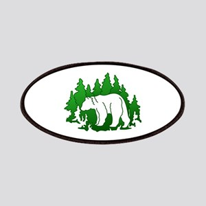 Bear Silhouette Patch