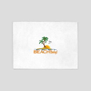 To The Beach 5'x7'Area Rug