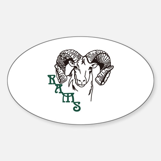 Rams Decal