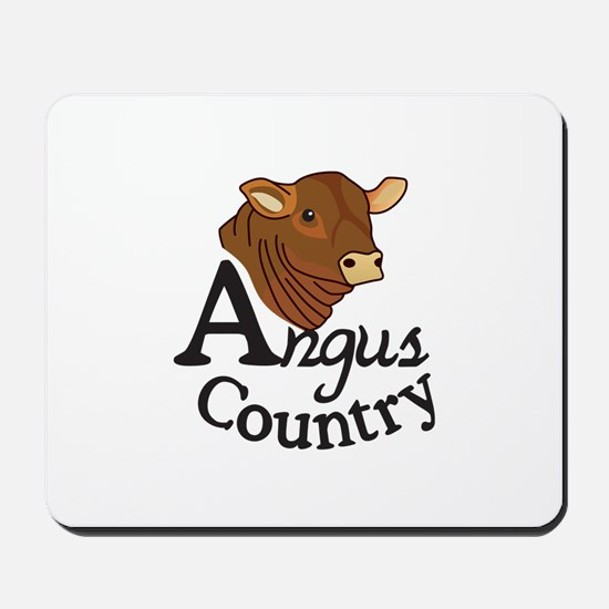 Angus Country Mousepad