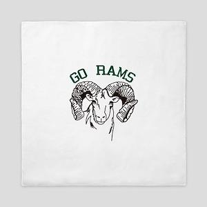 Go Rams Queen Duvet