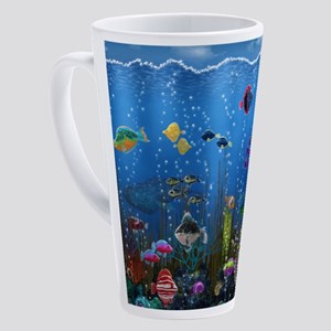Underwater Love 17 oz Latte Mug