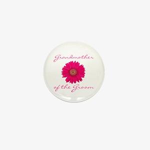 Groom's Grandmother Mini Button