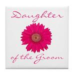 Groom's Daughter Tile Coaster