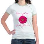 Groom's Daughter Jr. Ringer T-Shirt