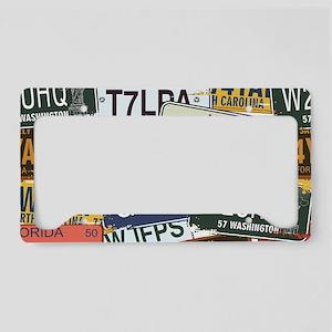 Vintage License Plates License Plate Holder