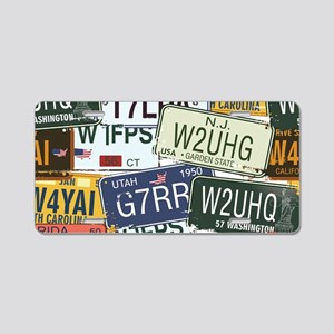 Vintage License Plates Aluminum License Plate