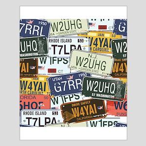 Vintage License Plates Posters