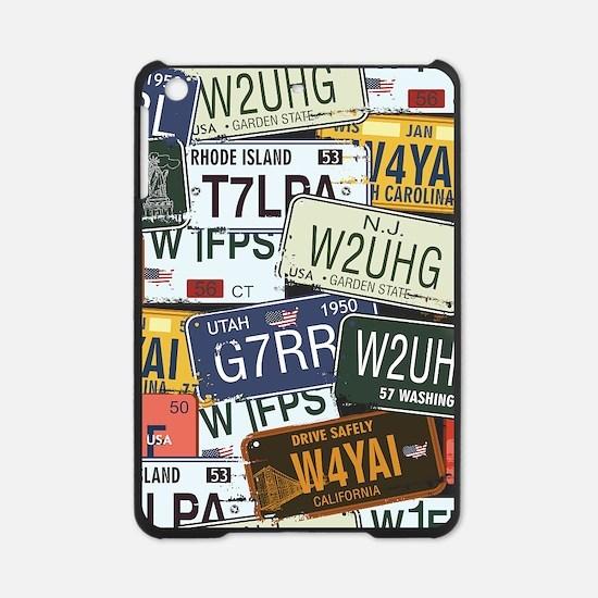 Vintage License Plates iPad Mini Case