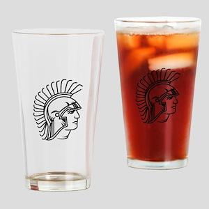 Spartan. Drinking Glass