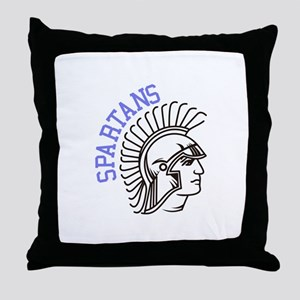 Spartans Throw Pillow