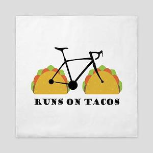 Runs On Tacos Queen Duvet