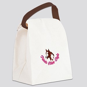 Paints Have Style Canvas Lunch Bag
