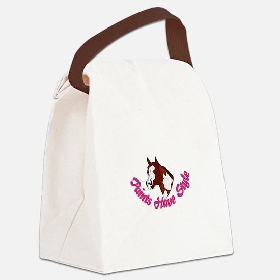 Paints Have Style Canvas Lunch Bag