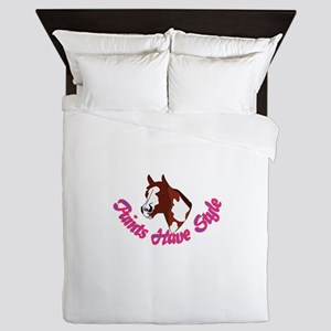 Paints Have Style Queen Duvet