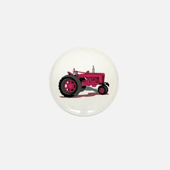 Tractor Mini Button