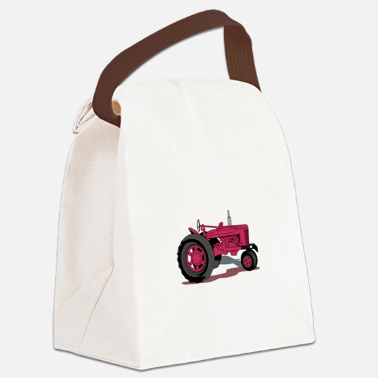 Tractor Canvas Lunch Bag
