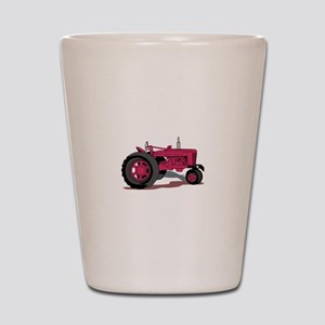 Tractor Shot Glass