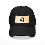 Cocker Spaniel (Parti-Colored Black Cap with Patch