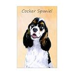 Cocker Spaniel (Parti-Colored) Mini Poster Print