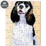 Cocker Spaniel (Parti-Colored) Puzzle