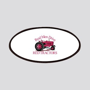 Drive Red Tractors Patch