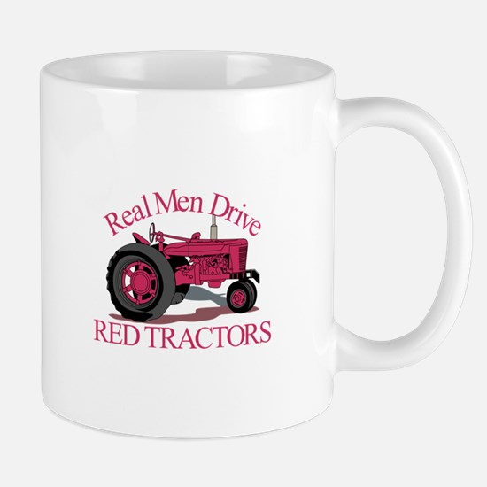 Drive Red Tractors Mugs