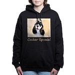 Cocker Spaniel (Parti-Co Women's Hooded Sweatshirt