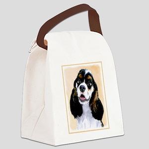 Cocker Spaniel (Parti-Colored) Canvas Lunch Bag