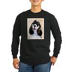 Cocker Spaniel (Parti-Col Long Sleeve Dark T-Shirt