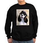Cocker Spaniel (Parti-Colored) Sweatshirt (dark)
