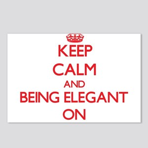 Keep Calm and BEING ELEGA Postcards (Package of 8)