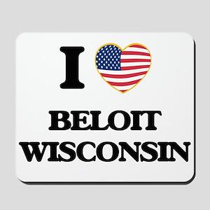 I love Beloit Wisconsin Mousepad