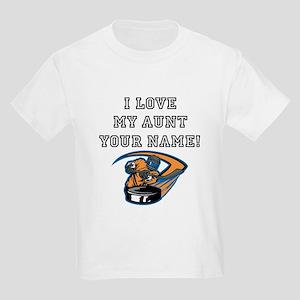 I Love My Aunt Hockey T-Shirt