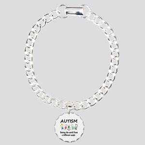 Autism...seeing the worl Charm Bracelet, One Charm