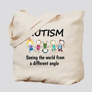 Autism...seeing the world from a differen Tote Bag