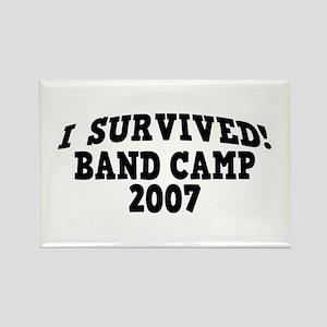 I Survived Band Camp 2007! Rectangle Magnet