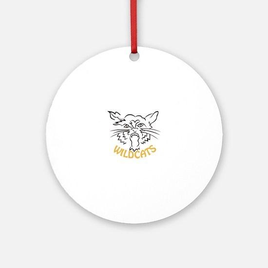 Wildcats Ornament (Round)