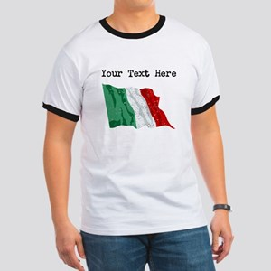 Italy Flag (Distressed) T-Shirt